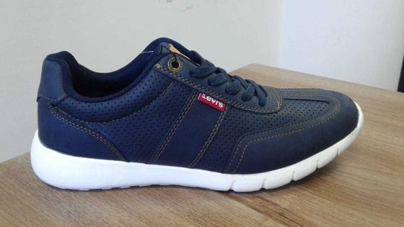 Zapatos Levis Azul Para Hombre Originales Talla 42