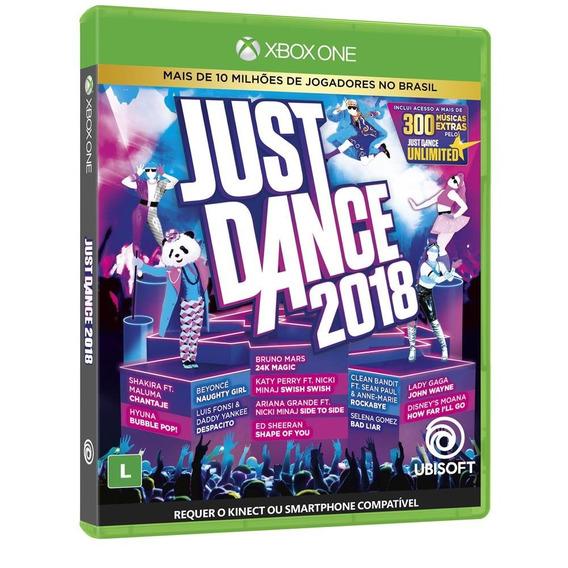 Just Dance 2018 (mídia Física Pt-br) - Xbox One (novo)