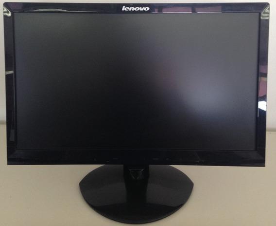 Monitor Lenovo Ls1921wa Led Dvi / Vga C/ Som - Seminovo!