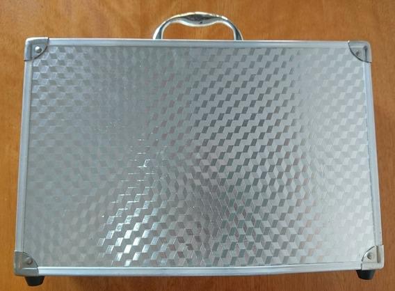 Maletín Aluminio Consolas Fotografia Poker Foam