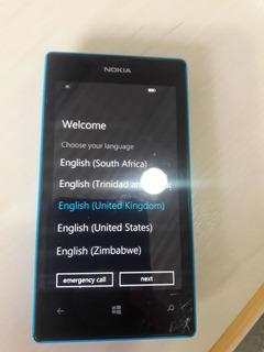 Nokia Lumia 520 Cyan Usado