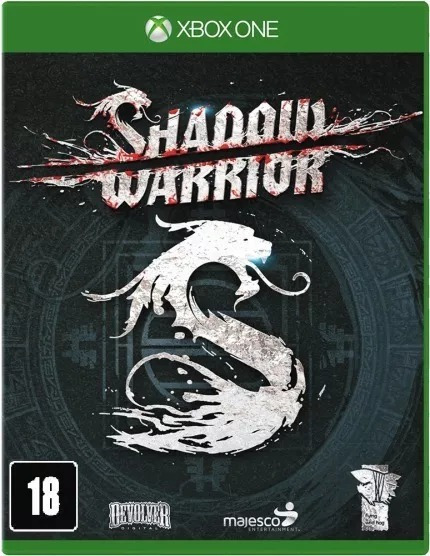 Shadow Warrior Xbox One Midia Fisica Novo Lacrado