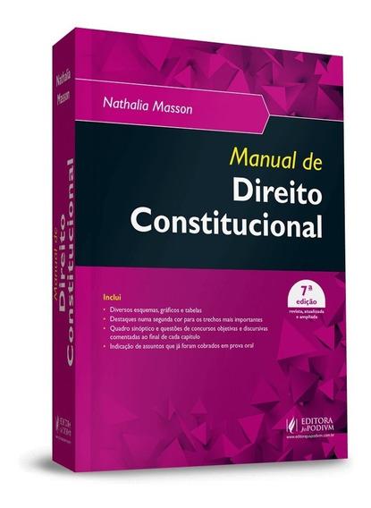 Manual De Direito Constitucional 7ª Edição (2019)