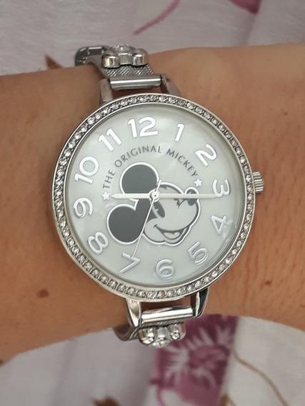 Relógio Mickey Disney Caixa Minnie Original Orlando