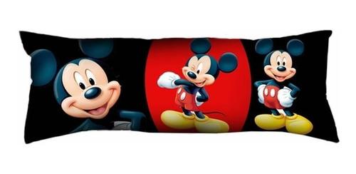 Almofada Decorativa Grande Mickey Para Sofá Ou Cama 35x95