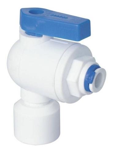 Llave De Tanque Aquapro Para Osmosis Inversa 1/4  Npt