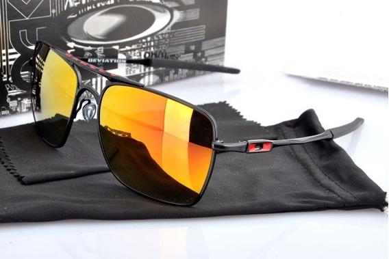 Óculos De Sol Masculino Deviation Vermelho Polarizado Co00-7