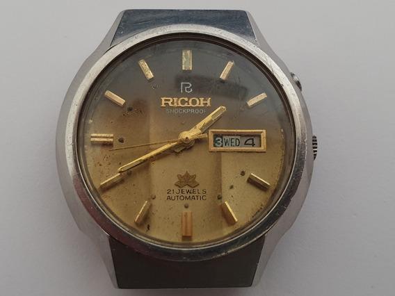 Ricoh Automático Day-date Antigo 01 Cx09