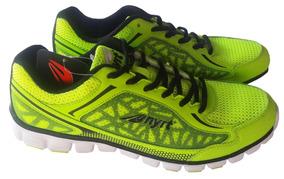 Zapatos Deportivos Nyrt Verde Neon Con Negro Talla 12 Nuevos