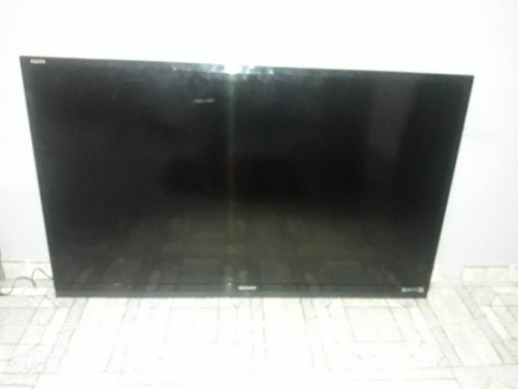 Tv 60polegadas Led Sharp Lc-60le632b Tv Com Placas Queimadas