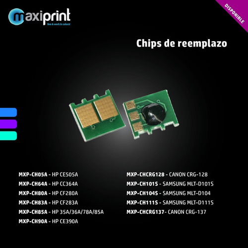 Chip Samsung Mltd101 Ml2160 2162 2164 2165 2167 2168 Scx3405