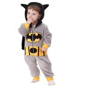 Pijama Batman Fantasia Macacão Herois Liga Justiça Super