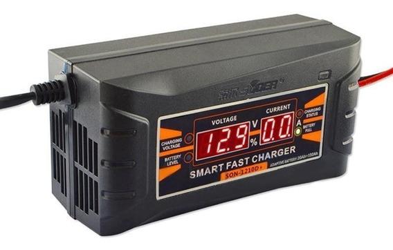 6 Amperes Carregador Bateria 12v 6a Carro Moto Voltim 10a