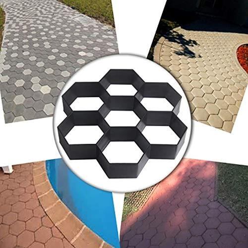 Imagen 1 de 6 de Molde Reutilizable Para Camino De Jardín
