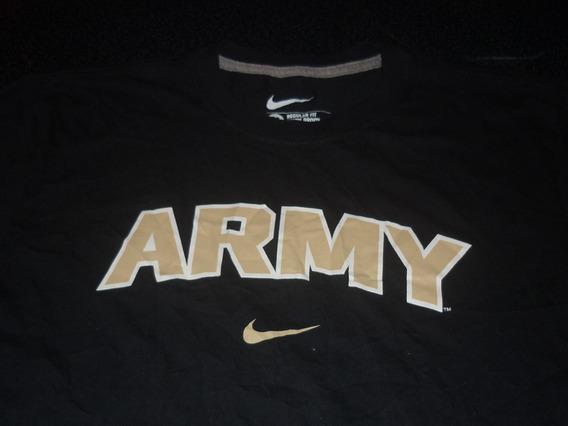 Espectacular!! Remera M/l Orig. Us Army - Black M