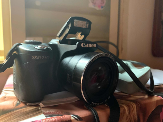 Câmera Cânon Semiprofissional + Carregador + Conexão Wi-fi