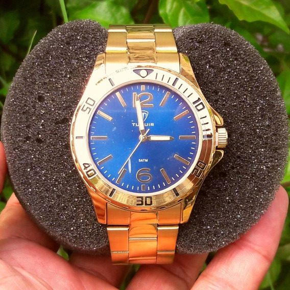 Relógio Tuguir Dourado 5346g