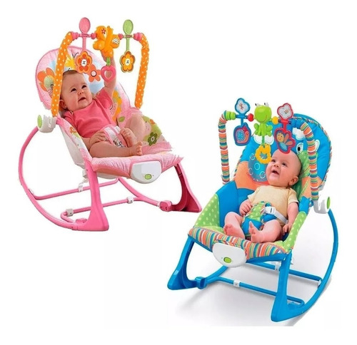 Silla Vibradora Mecedora Bebe Niño Niña Sonidos