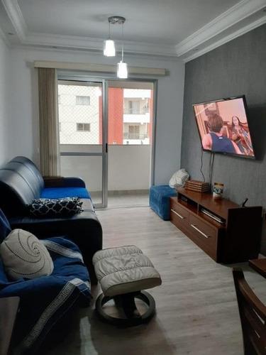 Imagem 1 de 26 de Apartamento Com 3 Dormitórios À Venda, 89 M² Por R$ 430.000,00 - Vila Boa Vista - Santo André/sp - Ap5428