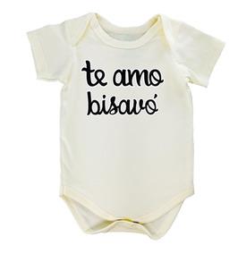 Body Frase Bebê Te Amo Bisavó Para Presentear Betty&loren