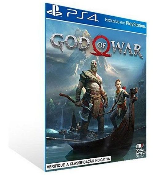 Gow4 God Of War - Ps4 - 2 - Envio Imediato