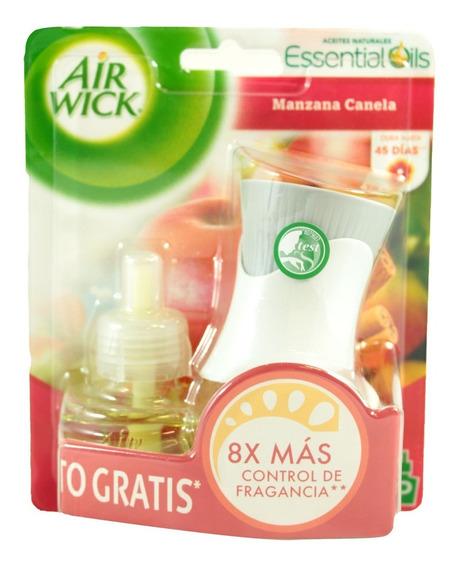 Aromatizante Ambiental Air Wick Manzana Canela 21 Ml