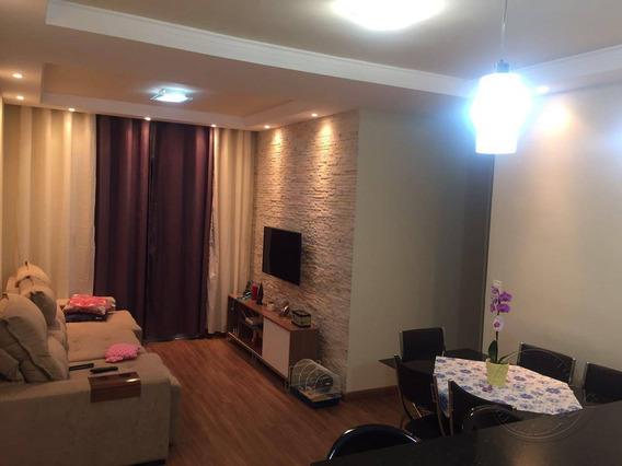 Apartamento Com 3 Dormitórios À Venda, 79 M² Por R$ 350.000,00 - Jardim Tupanci - Barueri/sp - Ap0063