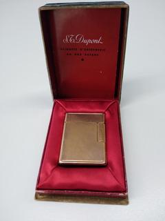 Yesquero St Dupont Original Enchapado En Oro