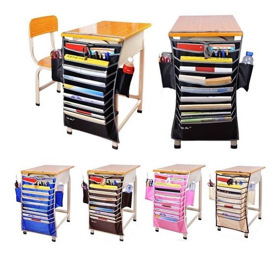 Organizador De Mesa Escolar Escritorio Porta Livros Revista