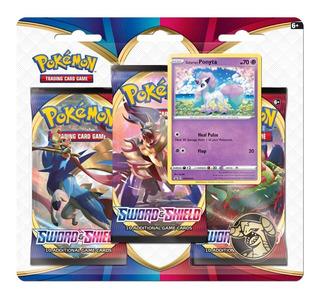 Pokémon Tcg: Sword & Shield 3 Booster Packs