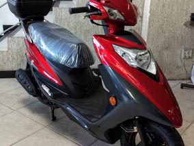 Scooter Lindy 125 Cc, 0 Km, Freio A Disco, Com Bauleto.