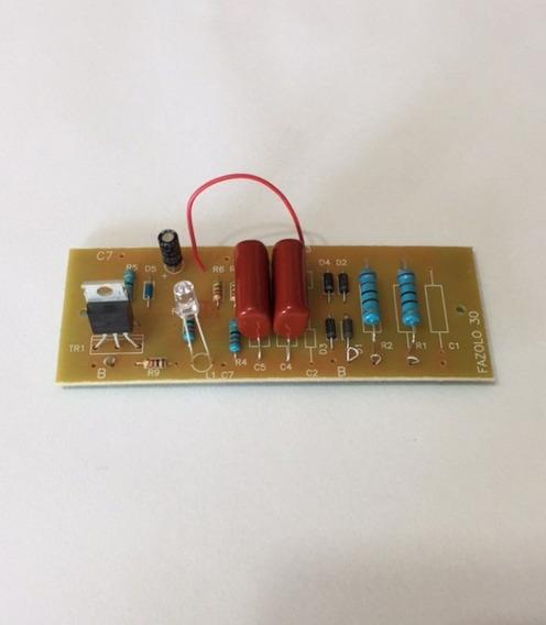Placa 5 Peças Para Eletrificador De Cerca Rural 30.000 M² 127/220v