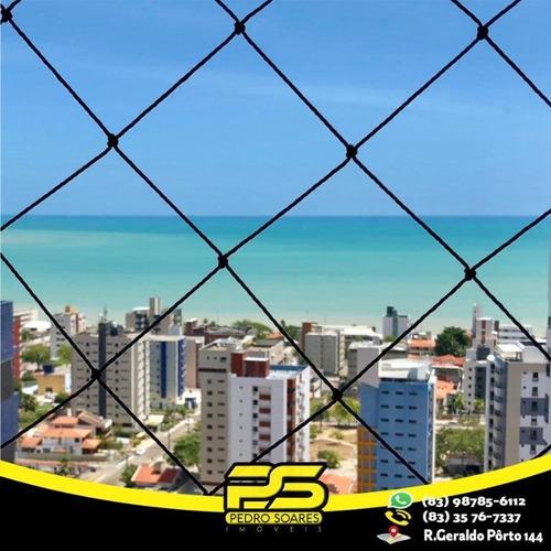 Flat Com 1 Dormitório À Venda, 39 M² Por R$ 240.000,00 - Manaíra - João Pessoa/pb - Fl0075