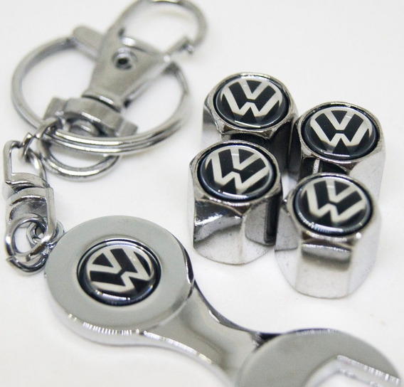 Válvula Volkswagen Fusca Antigo Azul Chaveiro Bico Pneu