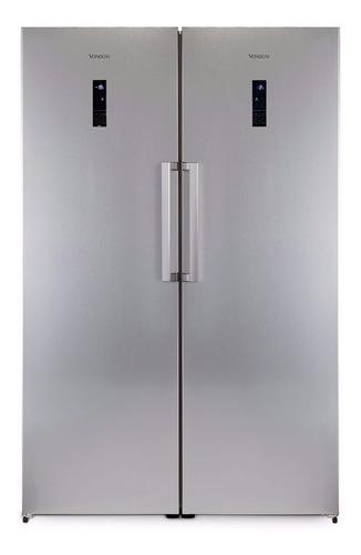 Vondom Platinum Heladera 360l + Freezer 267l Side By Side