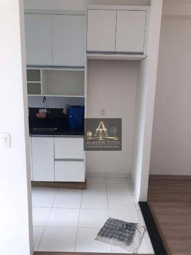 Excelente Apartamento Á Venda Em Barueri  - Condomínio Residencial Vision - Confira! - Ap2816