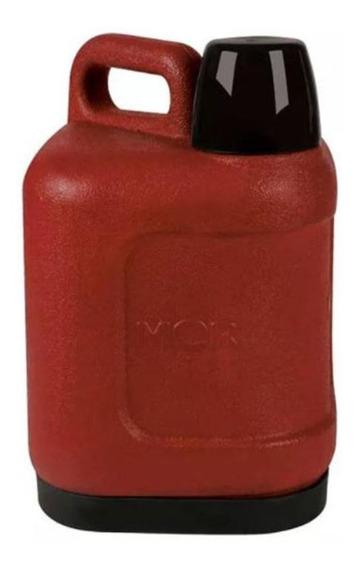 Garrafa Térmica 5 Litros Cor Vermelho Garrafão Mor