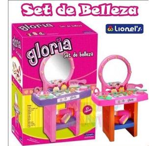 Tocador Gloria Set De Belleza Accesorios Con 21 Accesorios