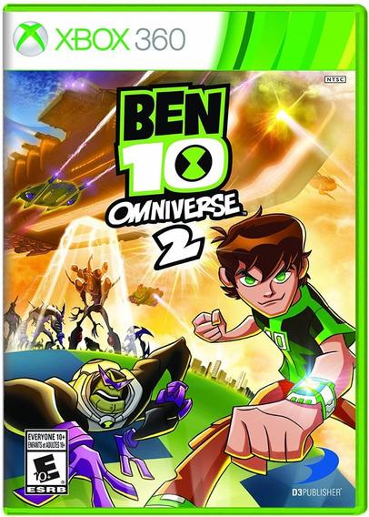Ben 10: Omniverse 2 - Novo Original Xbox 360
