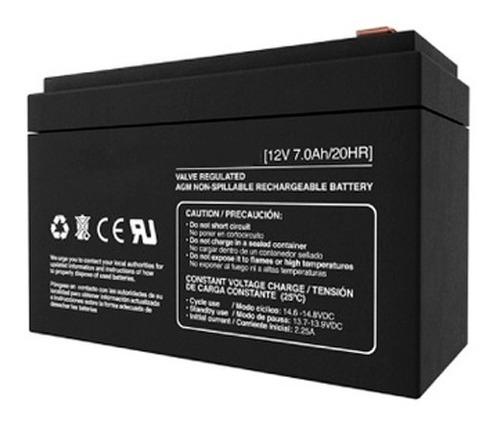 Imagen 1 de 2 de Batería 12v 7ah Matrix Ups Centrales Cerco Elect Mdj