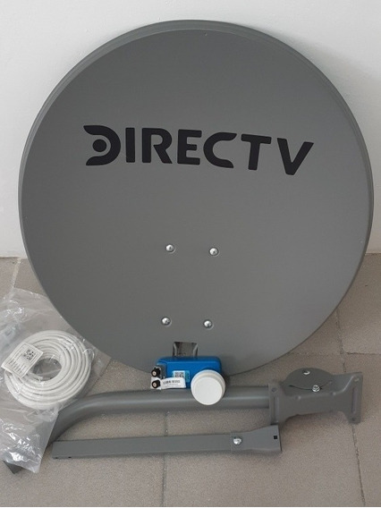 Antena Directv, 15 Metros Coaxial Con Sus Respectivos Termi