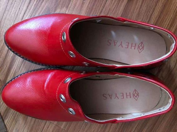 Zapatos Botinetas Marca Heyas Leída 37 Usados Solo Minutos