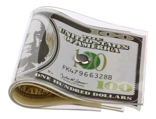 Imagen 1 de 5 de Soporte Tope Traba Puerta Forma Billete Dolar Diseño Origina