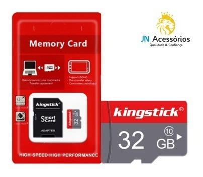 Cartão De Memória Kingstick - 32gb - Microsd