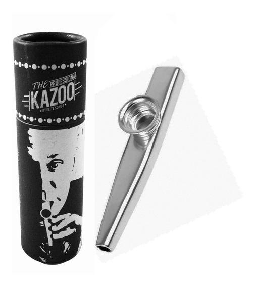 Kazoo Turbo Metálico Prata