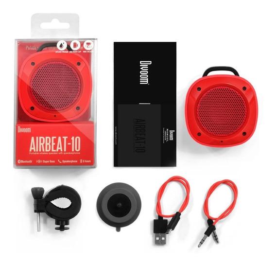 Caixa De Som Bluetooth Divoom Airbeat-10 Ipx4 Sucção