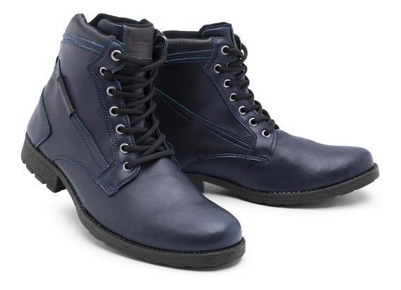 Sapato Botina Casual Social Masculino Bota Franca 1005