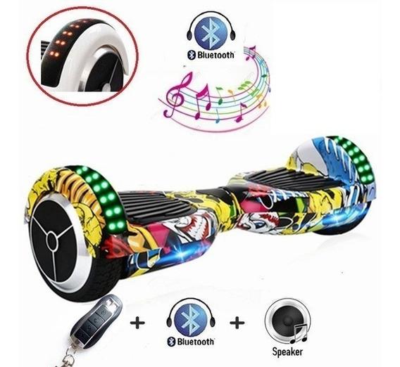 Scooter Patineta Eléctrica Smart Balance Bluetooth