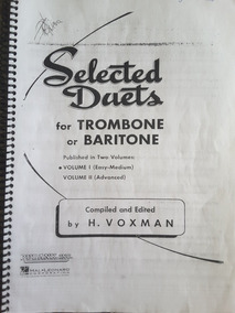 Método Para Trombone (select Duets For Trombone Ou Baritone)