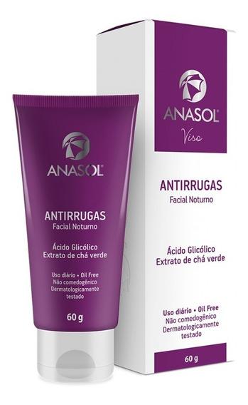 Creme Facial Anasol Antirrugas Noturno 75gr